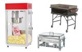 Concession, cooking, and catering rentals in Arlington TX