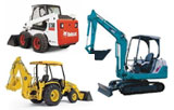 Earthmoving equipment and trencher rentals in Arlington TX