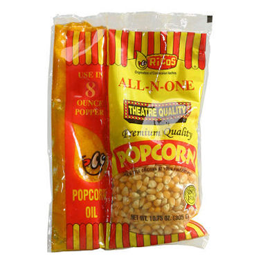 Where to find POPCORN 6 OZ PACK ALL IN ONE in Arlington