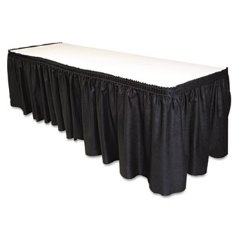 Where to find PLASTIC COVER WHITE 30 x96  BLACK SKIRT in Arlington