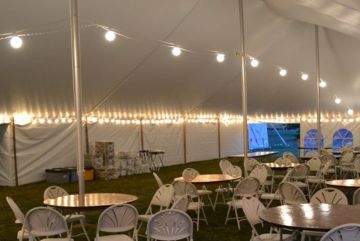 Where to find LIGHTING TENT 4 GLOBE STRING in Arlington