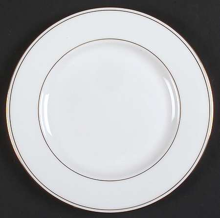 Where to find GOLD RIM 6.5  DESERT CHINA PLATE in Arlington