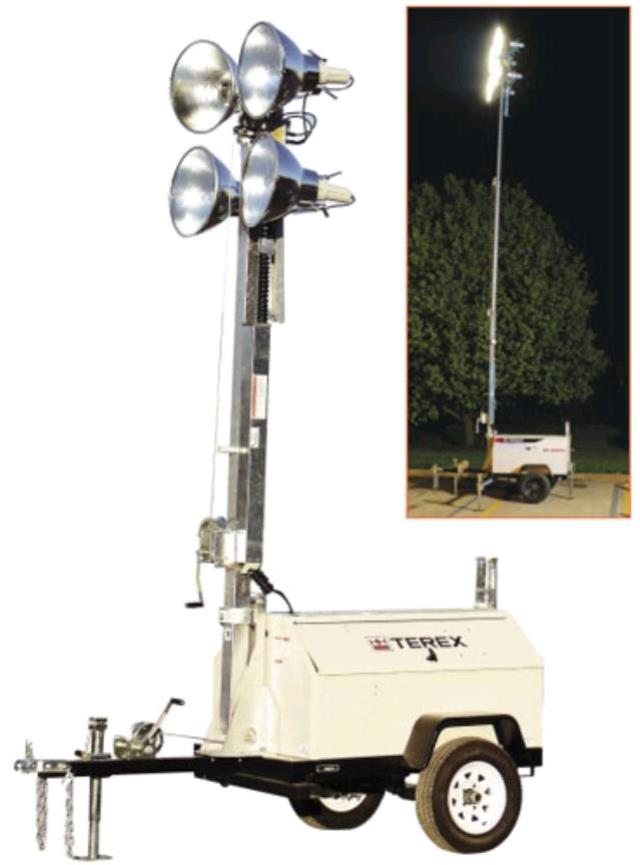 Where to find TOWABLE LIGHT TOWER TEREX RL4000 in Arlington