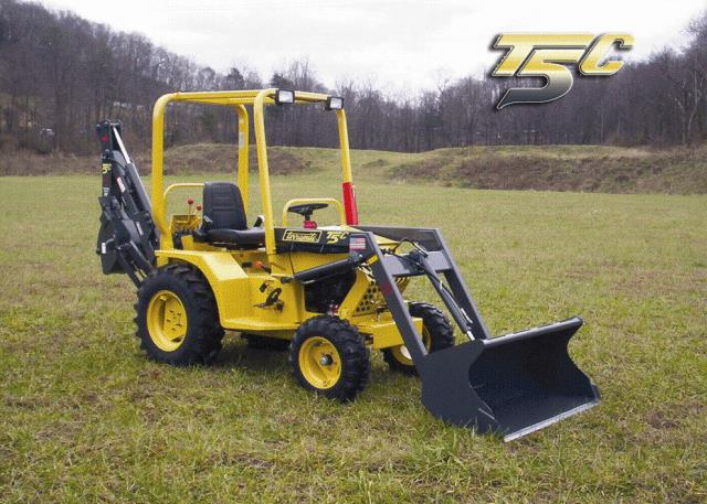 Where to find TERRAMITE T5 COMPACT BACKHOE TRACTOR in Arlington